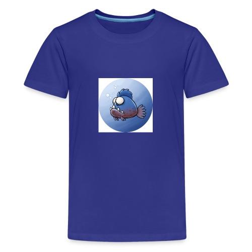 Piranha Button - Teenager Premium T-Shirt