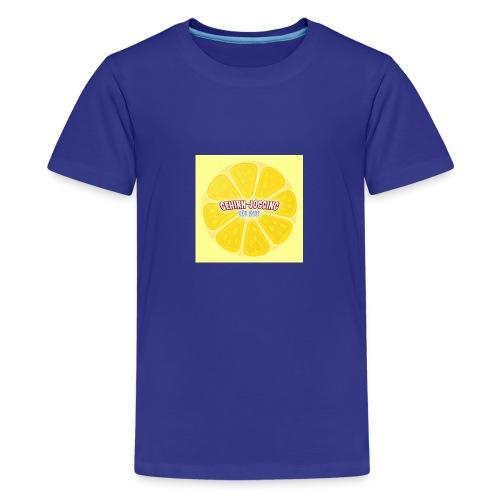 zitronetextur - Teenager Premium T-Shirt