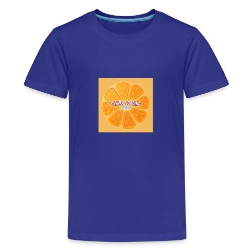 orangetextur - Teenager Premium T-Shirt