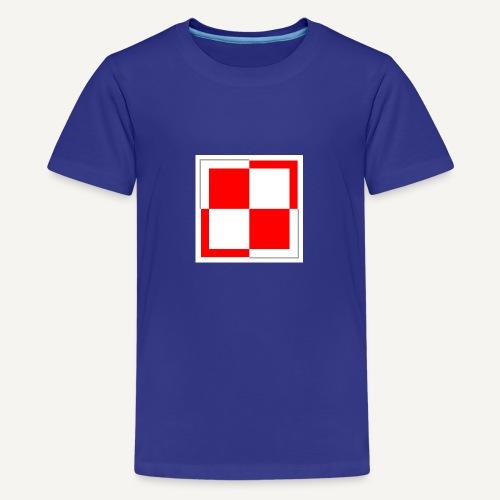 szachownica - Koszulka młodzieżowa Premium