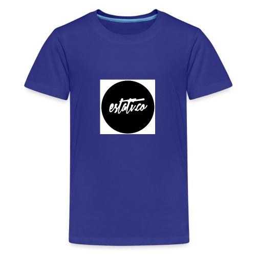 Taza blanca / punto - Camiseta premium adolescente