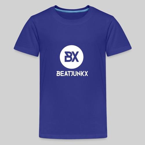 BEATJUNKX Mega Tank Fan - Teenage Premium T-Shirt
