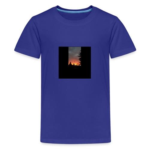 Morgenrotdrama Small Short - Teenager Premium T-Shirt