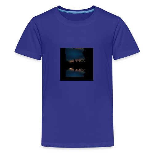 Gott ist gut - Sonnenhorizont Spiegelung Berliner - Teenager Premium T-Shirt