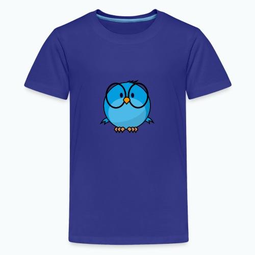 Birdie Bob - Appelsin - Premium-T-shirt tonåring