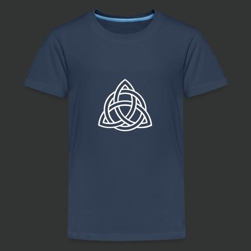 Celtic Knot — Celtic Circle - Teenage Premium T-Shirt