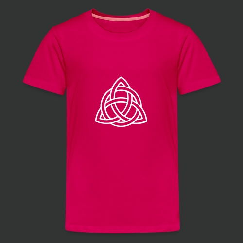 Celtic Knot — Celtic Circle - Teenage Premium T-Shirt