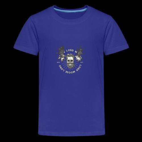 Lord Moose - Premium-T-shirt tonåring