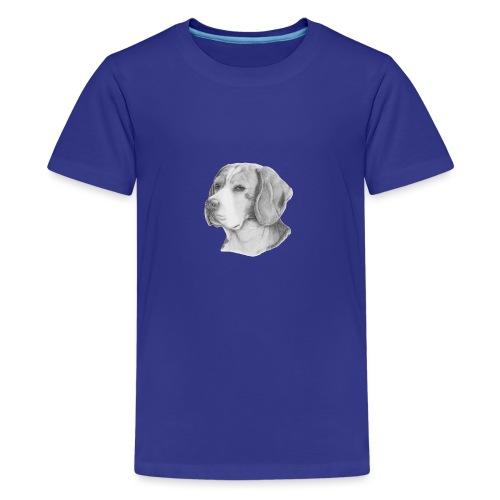 beagle M - Teenager premium T-shirt