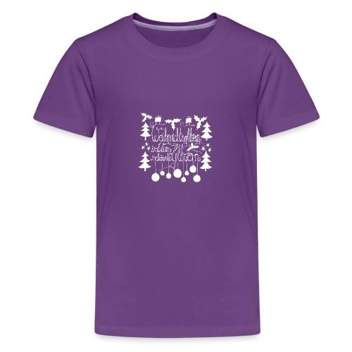 Weihnachtsglitzern - Teenager Premium T-Shirt