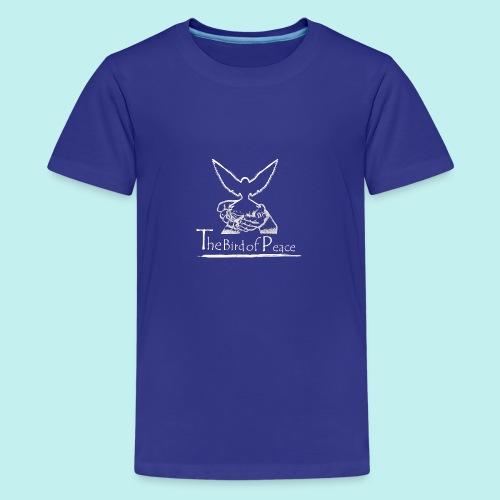 Bird of Peace white - Teenager Premium T-Shirt