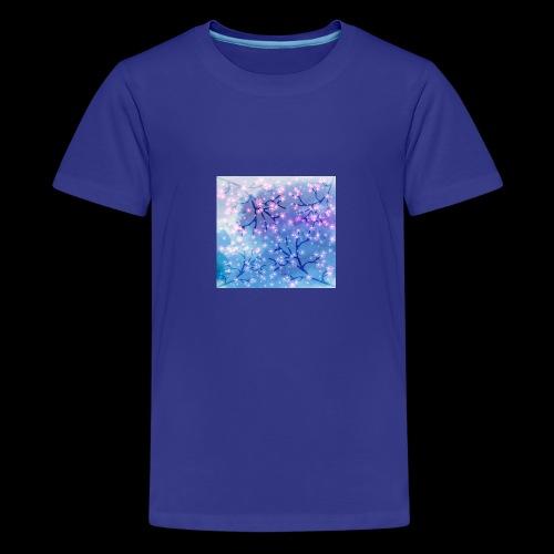 Watercolour blossoms - Teenage Premium T-Shirt