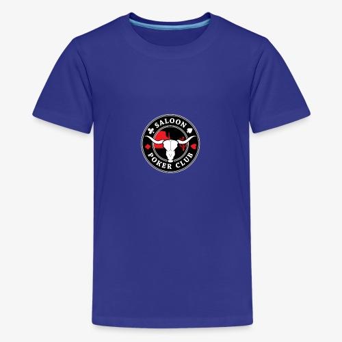 saloon poker transparent png - T-shirt Premium Ado