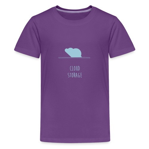 Cloud Storage - Teenager Premium T-Shirt