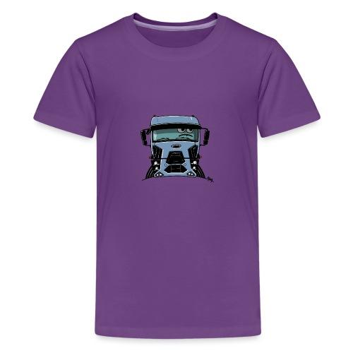 0812 F truck blue - Teenager Premium T-shirt
