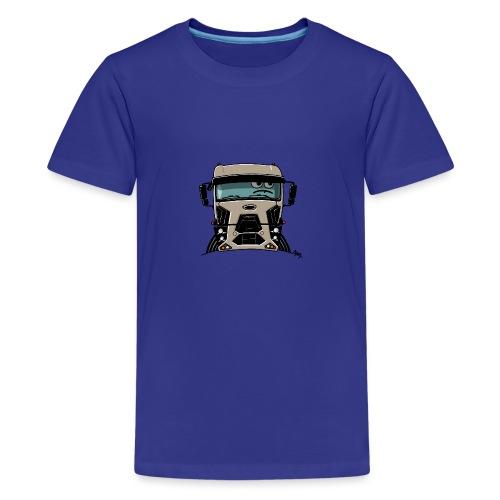 0812 F truck beige - Teenager Premium T-shirt
