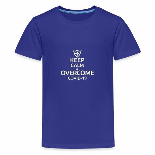 Keep calm and overcome - Koszulka młodzieżowa Premium