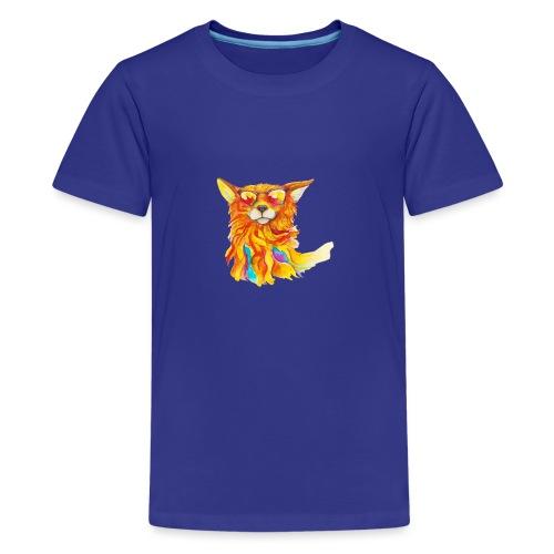 Cool windfox - Teenager Premium T-Shirt