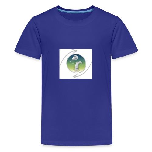 button ci - Teenager Premium T-Shirt