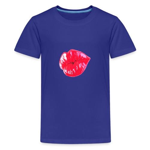 Lips3 - Teinien premium t-paita