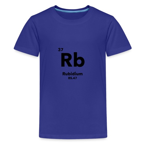 Rubidium - Teenage Premium T-Shirt