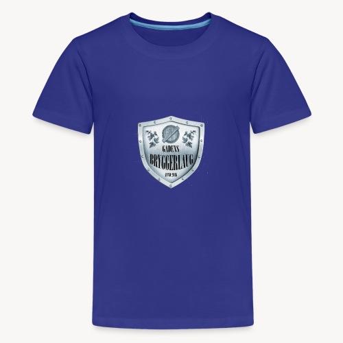 bla gra - Teenager premium T-shirt