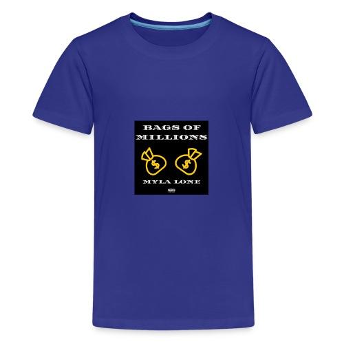 Bags Of Millions Lone - Teenager Premium T-Shirt