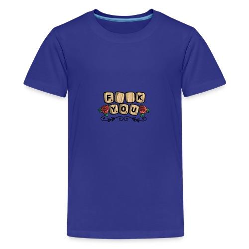 Fuck you Brettspiel - Teenager Premium T-Shirt