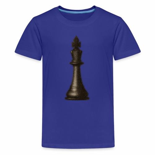 King / Queen chess logo premium wear - Teenager Premium T-Shirt