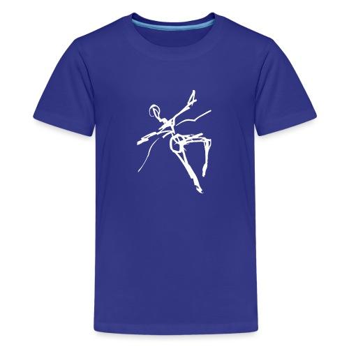 Ikarus 2 weiß - Teenager Premium T-Shirt