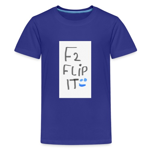 F2 FLIP IT - Teenage Premium T-Shirt