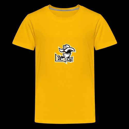 Delinquents TriColor - Teenager premium T-shirt