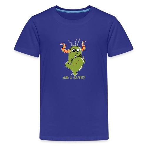 Cute monster - Teenage Premium T-Shirt