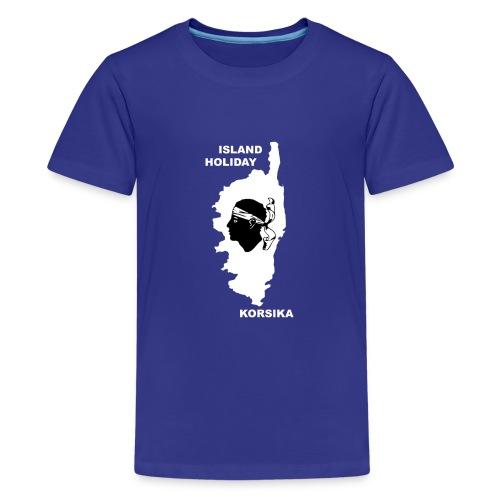 Korsika Insel Urlaub Holiday - Teenager Premium T-Shirt