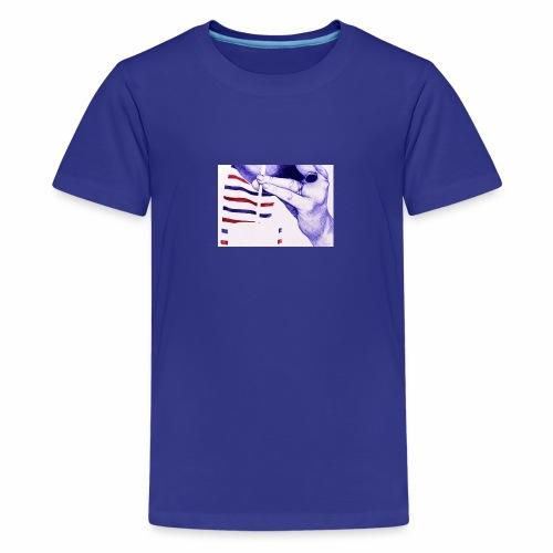 Français et fière de l'être - T-shirt Premium Ado