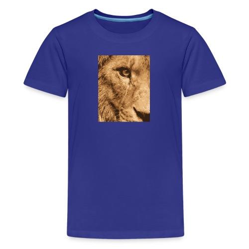 Lion eye - Teenager Premium T-Shirt