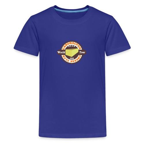 cheese club 2018 - Teenage Premium T-Shirt
