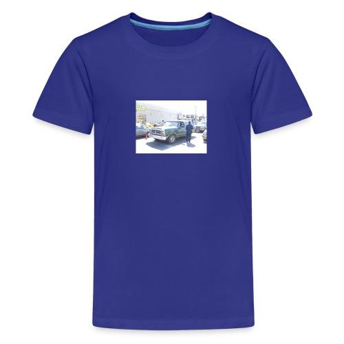 bommer4243cascert40983follon65657893vosico840goku0 - Camiseta premium adolescente