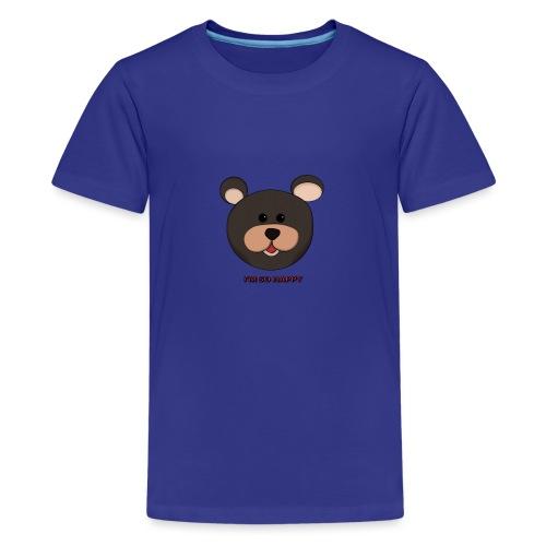 Osito feliz - Camiseta premium adolescente
