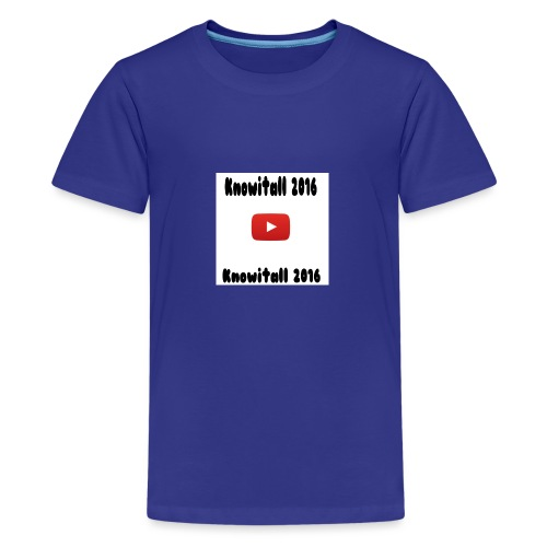 Knowitall 2016 Custom design - Teenage Premium T-Shirt
