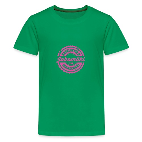 77P-JAKOMÄEN KORKEAKOULU - Stadi, Helsinki - Teinien premium t-paita