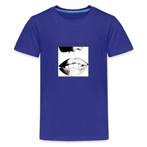2-jpeg - Camiseta premium adolescente