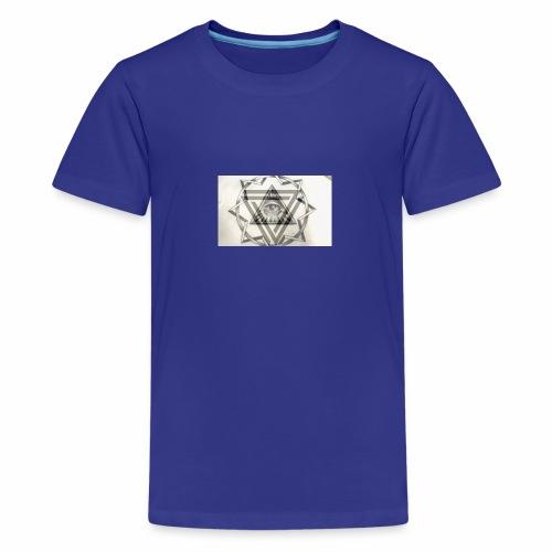 el ojo - Camiseta premium adolescente