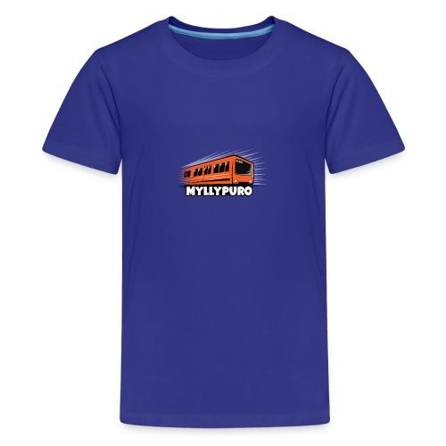05 - METRO MYLLYPURO - HELSINKI - LAHJATUOTTEET - Teinien premium t-paita