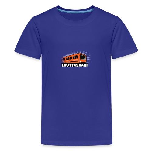 18-LAUTTASAAREN METRO - Tekstiilit ja lahjat - Teinien premium t-paita