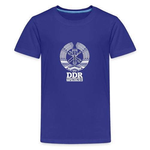 DDR Tuning Coat of Arms 1c - Teenage Premium T-Shirt