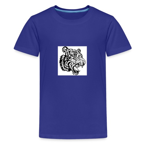 tribal tiger vector 636182 jpg - T-shirt Premium Ado