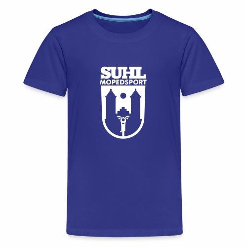 Suhl Mopedsport S50 / S51 Logo - Teenage Premium T-Shirt
