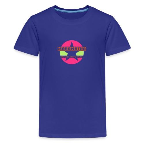maranatha rosa-grün - Teenager Premium T-Shirt