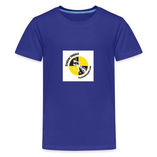badge010 - T-shirt Premium Ado